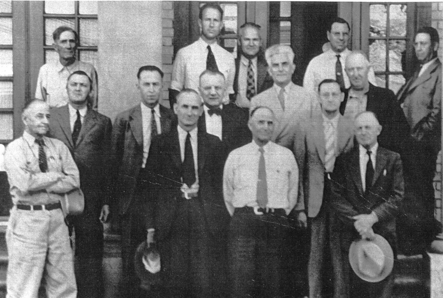 Charter Members of the Rotary Club #2358, May 25, 1926