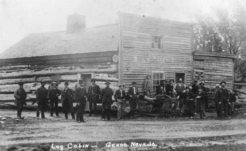 Early image of the Morman Station building