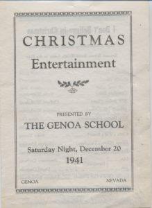 1941-Genoa-School-Program
