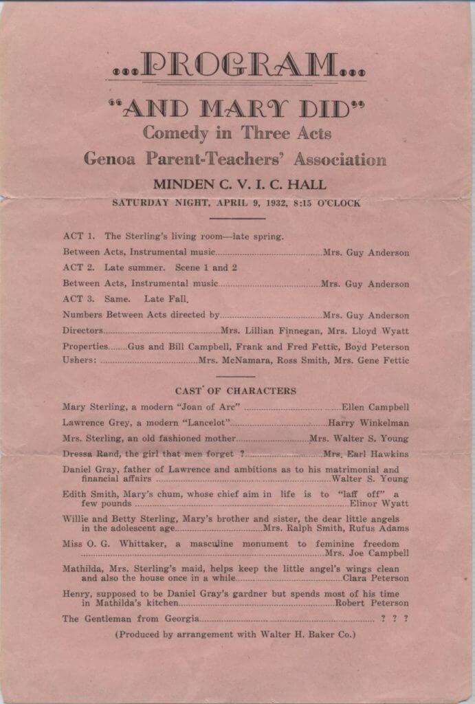 Program-1932-Genoa-PTA
