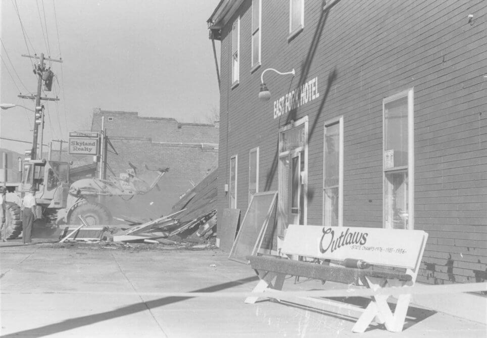 East-Fork-Hotel-Bar-Demolished
