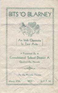 1931-Bits-O-Blarney-Program