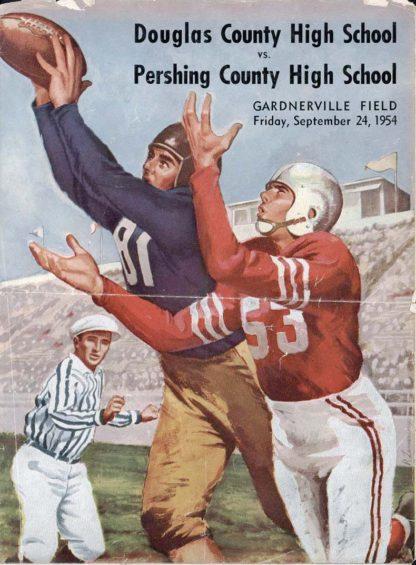 1954-Football-Program